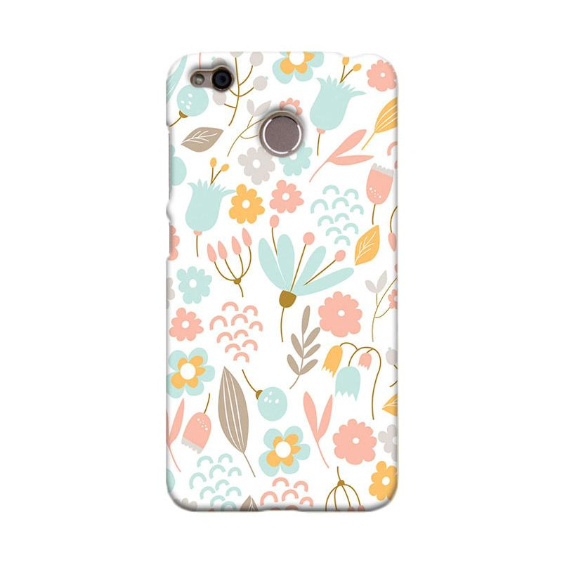 Premiumcaseid Cute Pastel Shabby Chic Floral Hardcase Casing for Xiaomi Redmi 4X