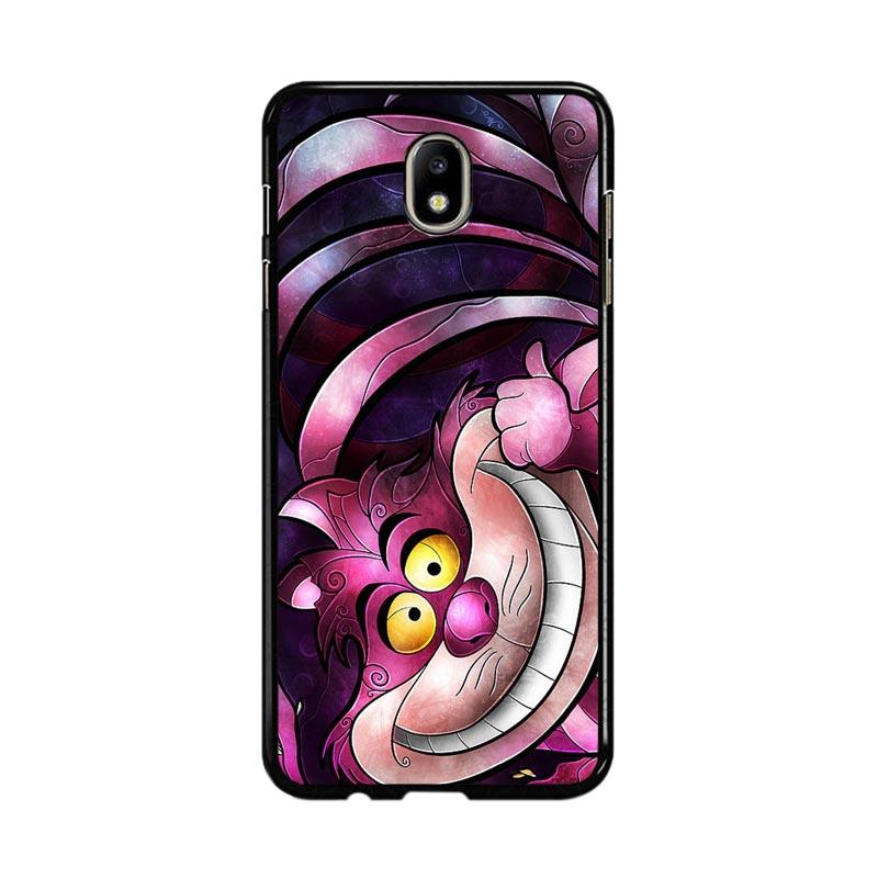 Flazzstore Disney Cheshire Cat Stained Glass Z1190 Custom Casing for Samsung Galaxy J7 Pro 2017