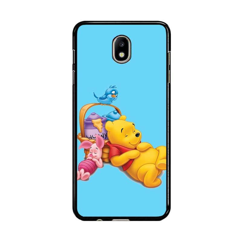 Flazzstore Funny Winnie The Pooh And Piglet Z1060 Custom Casing for Samsung Galaxy J5 Pro 2017