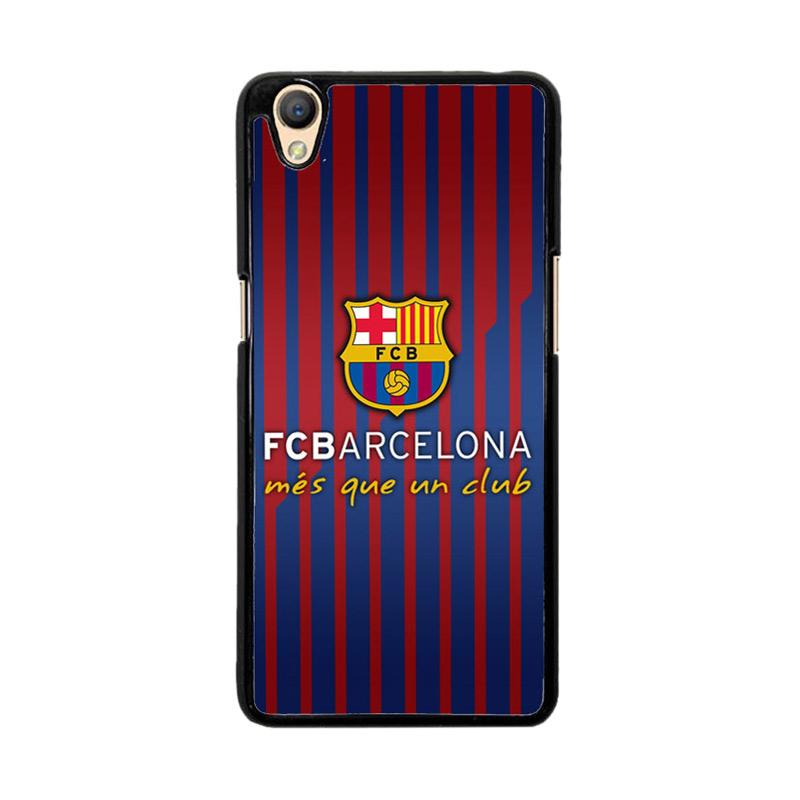 Flazzstore FC Barcelona Mes Que Un Club O0441 Custom Casing for Oppo Neo 9 A37