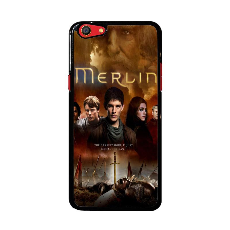 Flazzstore Merlin Fantasy Adventure Television Z0556 Custom Casing for Oppo F3