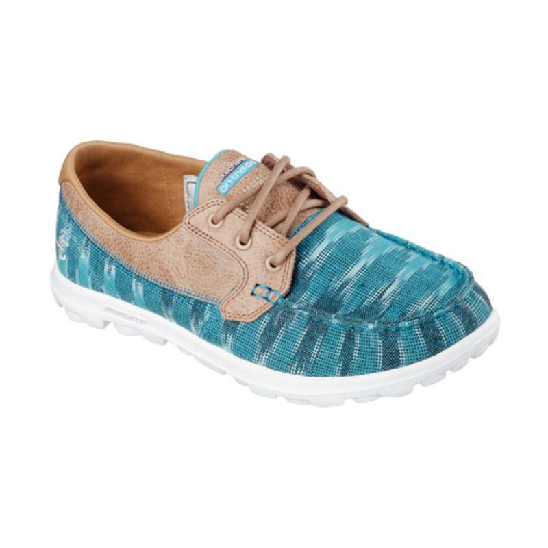 Skechers On The Go Boat Shoes Sepatu Olahraga Wanita - Tosca Brown [13837TEAL]