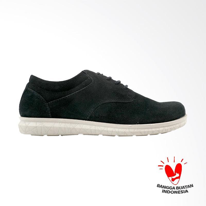 Dane And Dine Kresta Sepatu Pria - Black