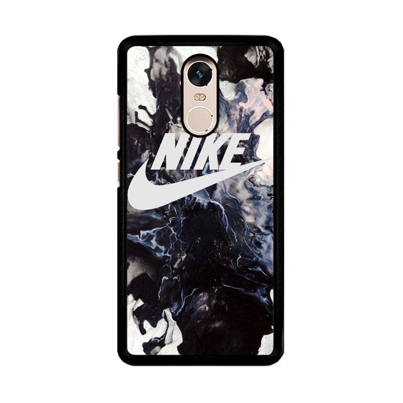Flazzstore Nike Smoke Black O0067 Custom Casing for Xiaomi Redmi Note 4 or Note 4X Snapdragon Mediatek