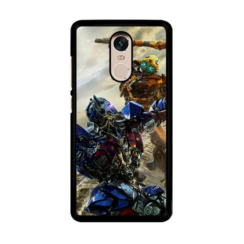 Flazzstore Bumblebee Versus Optimus Prime O0744 Custom Casing for Xiaomi Redmi Note 4 or Note 4X Snapdragon Mediatek