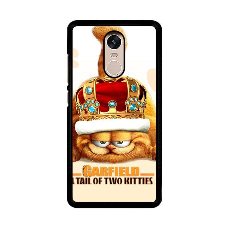 Flazzstore Garfield Tailof Twokitties Wall F0175 Custom Casing for Xiaomi Redmi Note 4 or Note 4X Snapdragon Mediatek