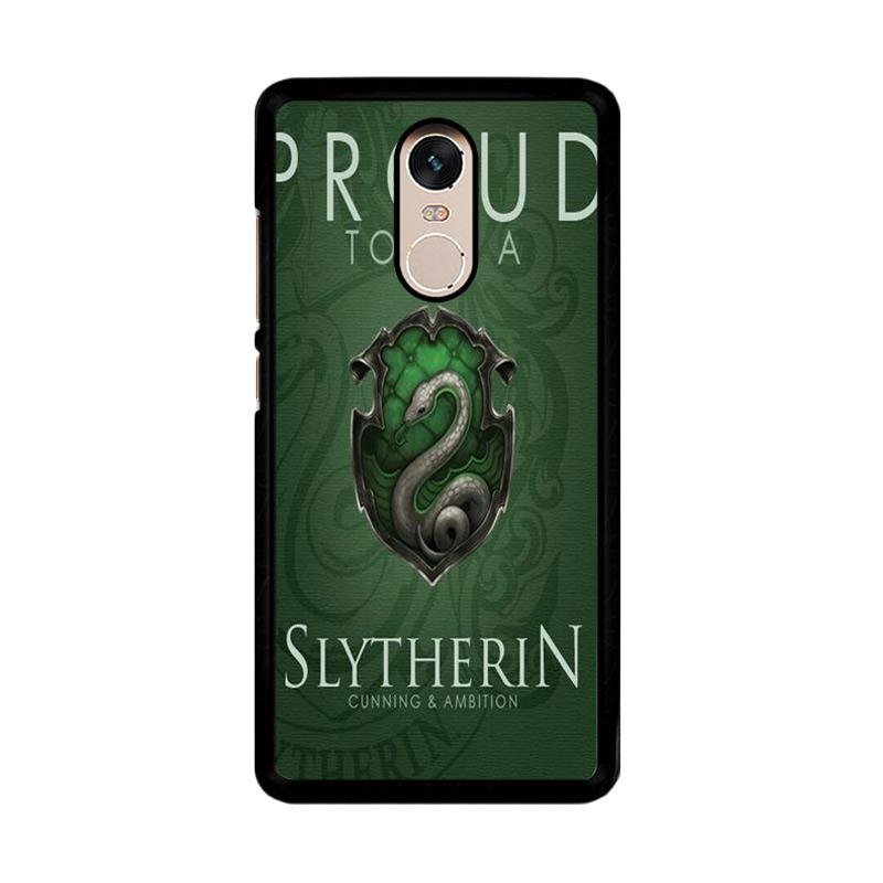 Flazzstore Proud To Be Slytherin F0574 Custom Casing for Xiaomi Redmi Note 4 or Note 4X Snapdragon Mediatek