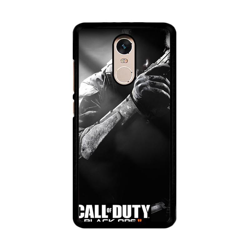Flazzstore Call Of Duty Black Ops Ii F0348 Custom Casing for Xiaomi Redmi Note 4 or Note 4X Snapdragon Mediatek