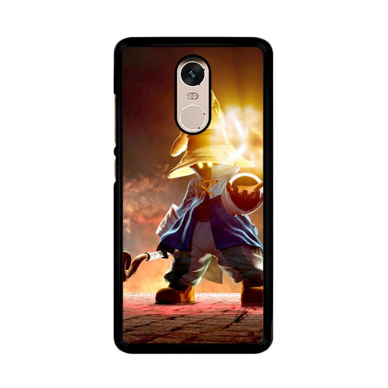 Flazzstore Vivi Final Fantasy Ix Character F0808 Custom Casing for Xiaomi Redmi Note 4 or Note 4X Snapdragon Mediatek