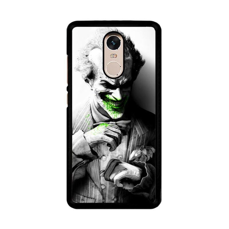 Flazzstore Batman The Joker Z0153 Custom Casing for Xiaomi Redmi Note 4 or Note 4X Snapdragon Mediatek