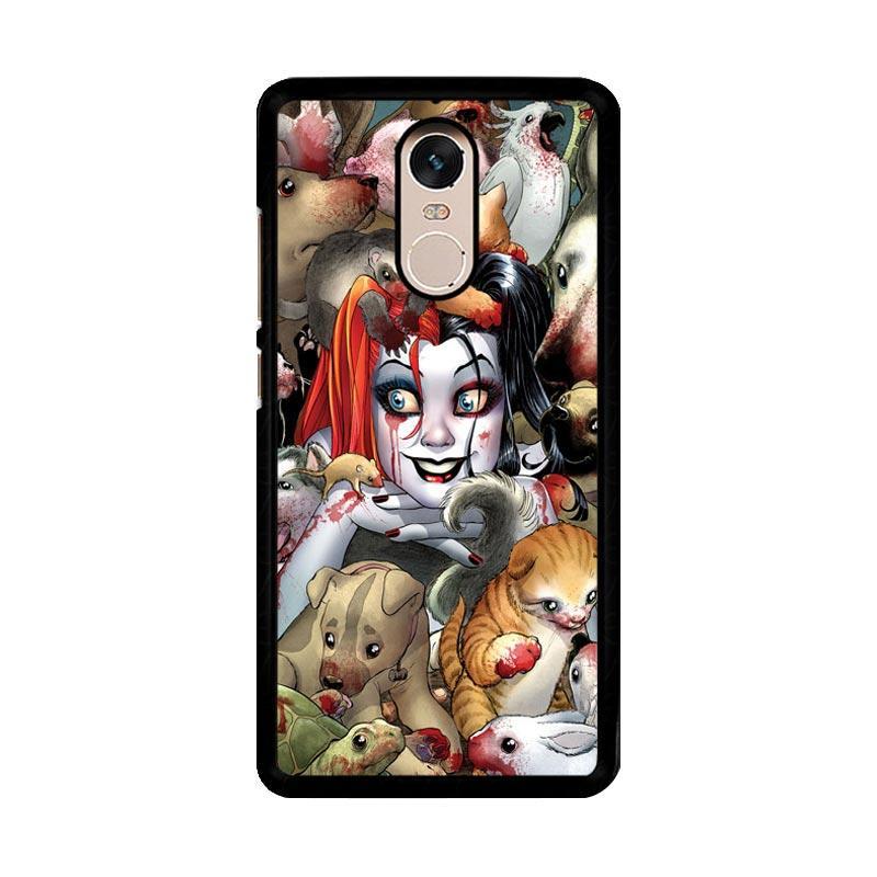 Flazzstore Harley Quinn Textless Z0242 Custom Casing for Xiaomi Redmi Note 4 or Note 4X Snapdragon Mediatek