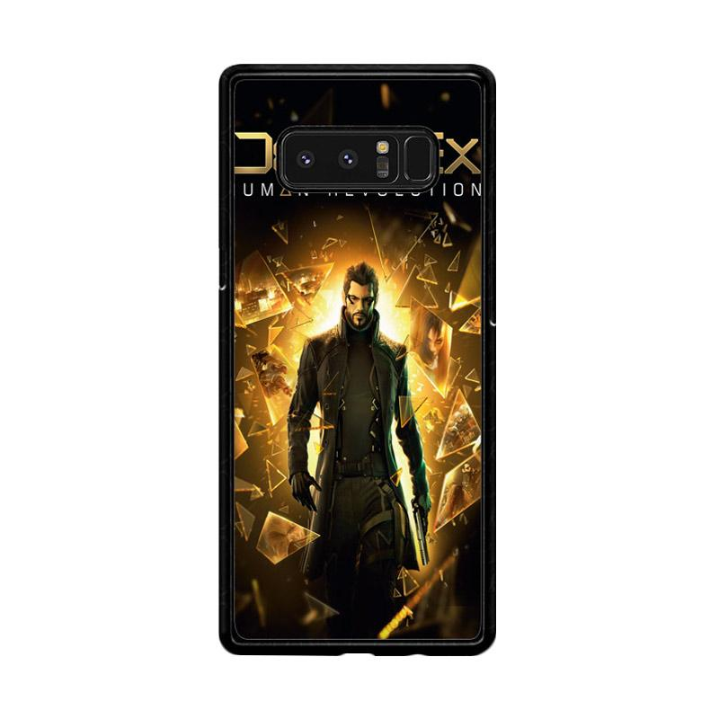 Flazzstore Deus Ex Human Revolution F0854 Custom Casing for Samsung Galaxy Note8