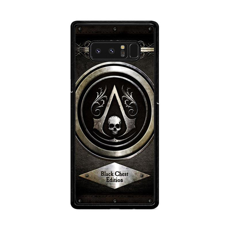 Flazzstore Assassins Creed Black Flag Logo Z0067 Custom Casing for Samsung Galaxy Note8