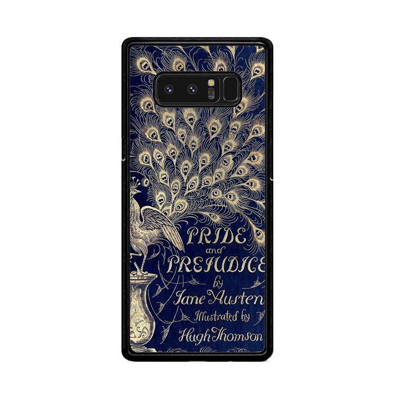 Flazzstore Cover Book Jane Austen Z0111 Custom Casing for Samsung Galaxy Note8