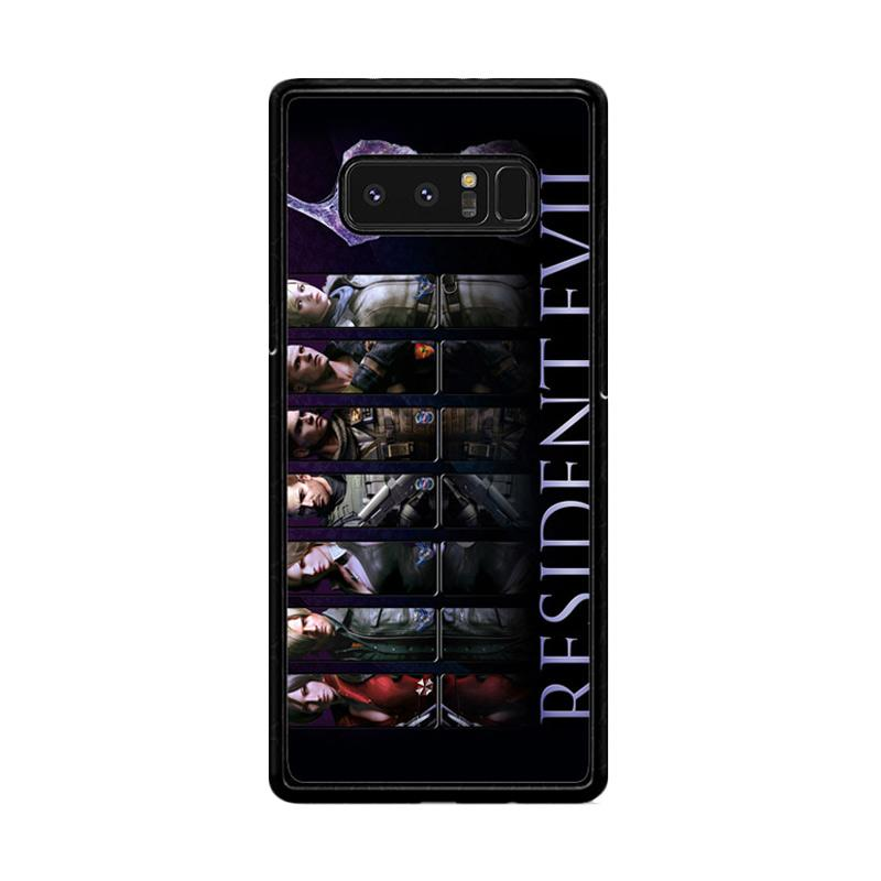 Flazzstore Resident Evil 6 Z0332 Custom Casing for Samsung Galaxy Note 8
