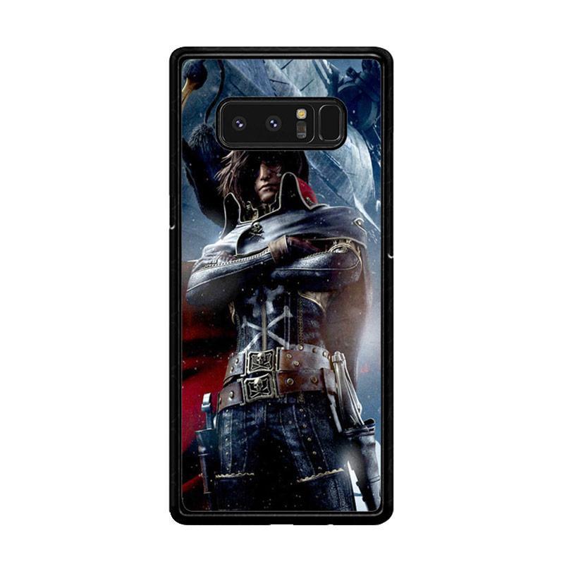 Flazzstore Albator Captain Harlock Z0401 Custom Casing for Samsung Galaxy Note8