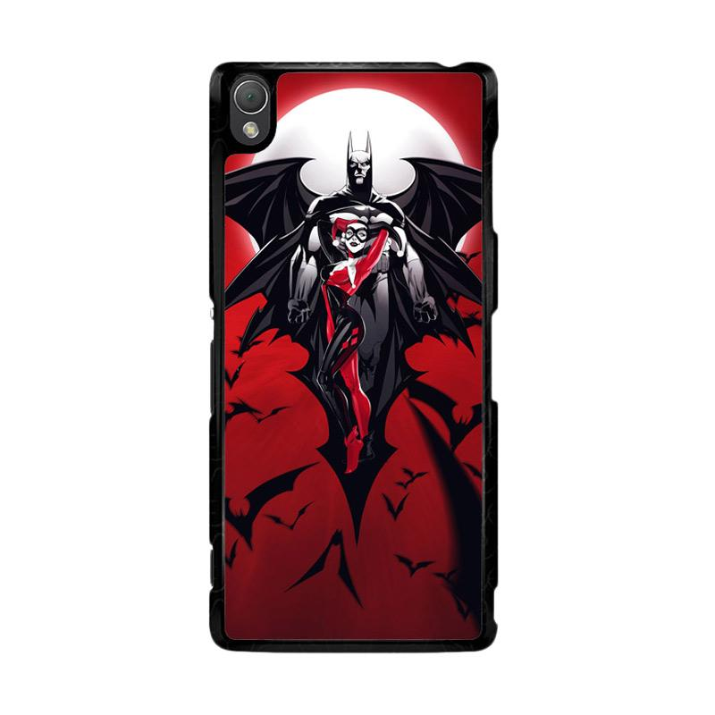 Flazzstore Batman Harley Quinn Z0068 Custom Casing for Sony Xperia Z3