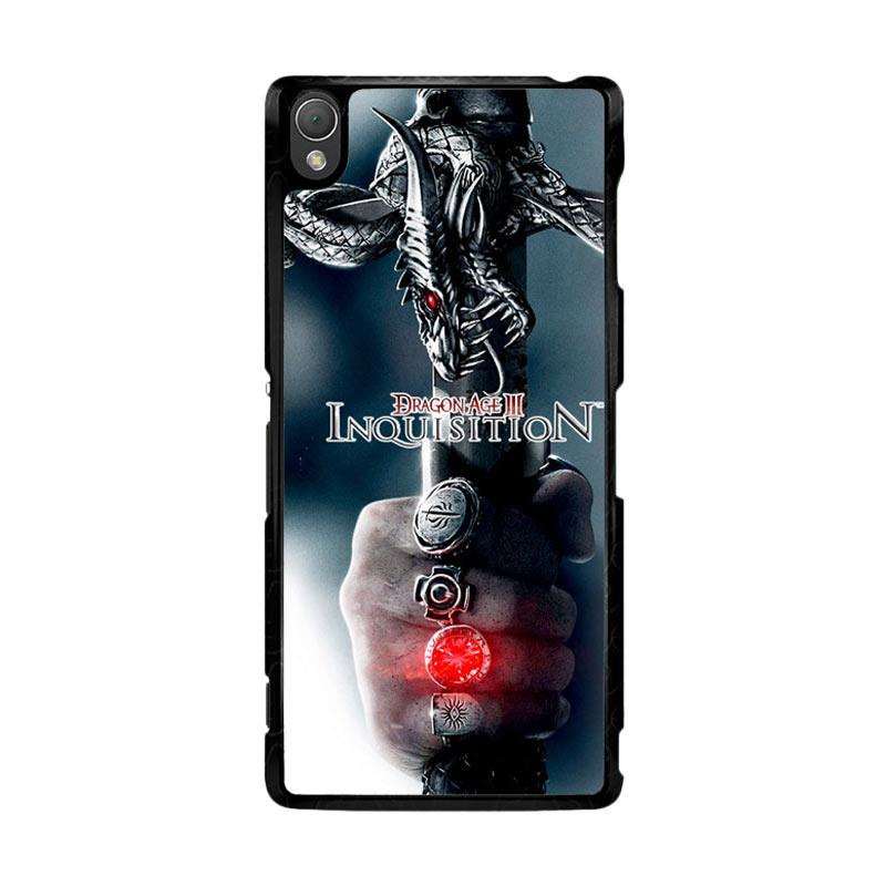 Flazzstore Dragon Age Inquisition Z0374 Custom Casing for Sony Xperia Z3