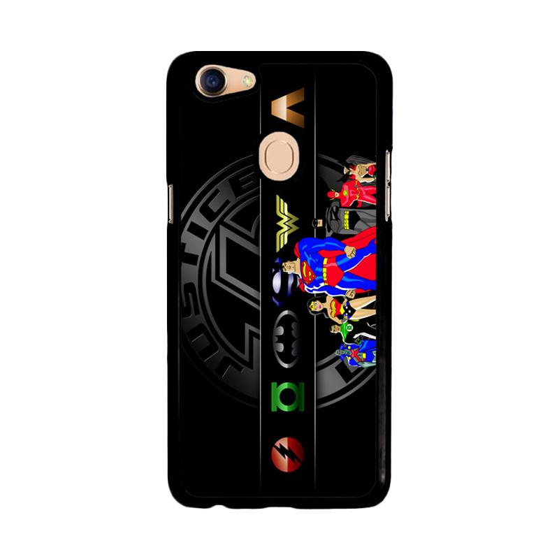 Flazzstore Justice League Super Hero Team Z3265 Custom Casing for Oppo F5