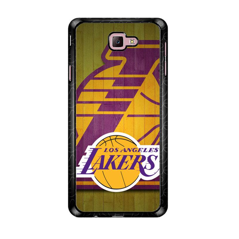 Flazzstore Los Angeles Lakers Z3222 Custom Casing for Samsung Galaxy J7 Prime