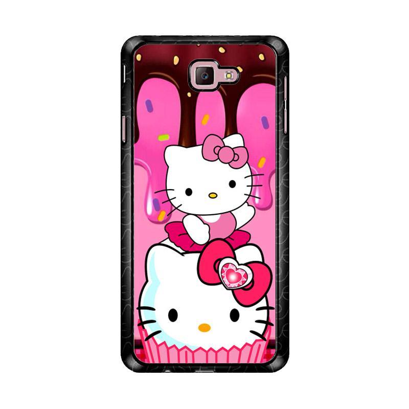 Flazzstore Hello Kitty Cute Z3336 Custom Casing for Samsung Galaxy J7 Prime