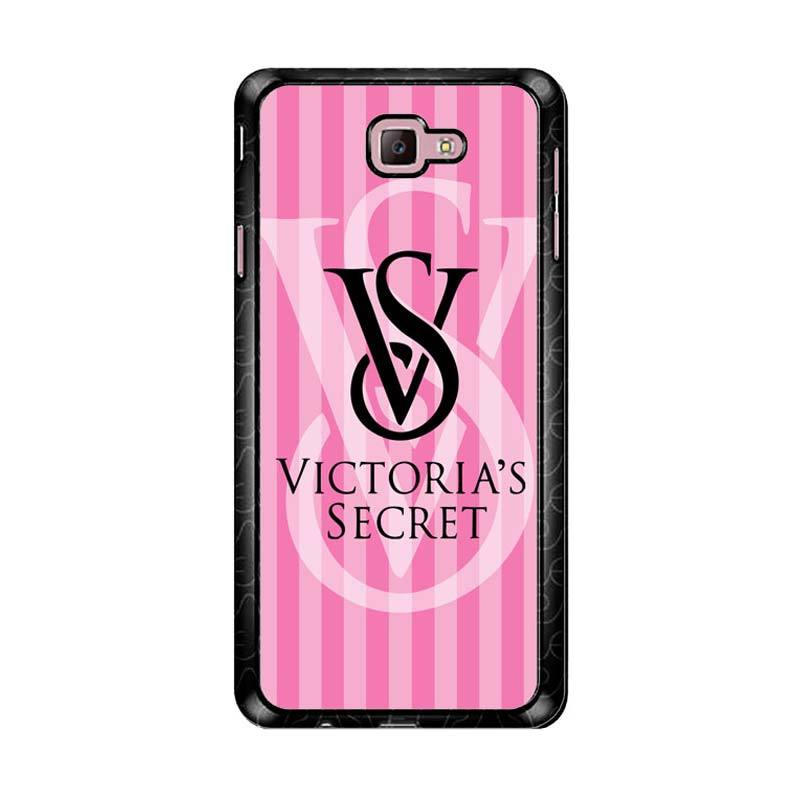 Flazzstore Victoria Secret Logo Pink Z3874 Custom Casing for Samsung Galaxy J7 Prime