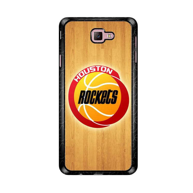 Flazzstore Houston Rockets Logo Z4162 Custom Casing for Samsung Galaxy J7 Prime