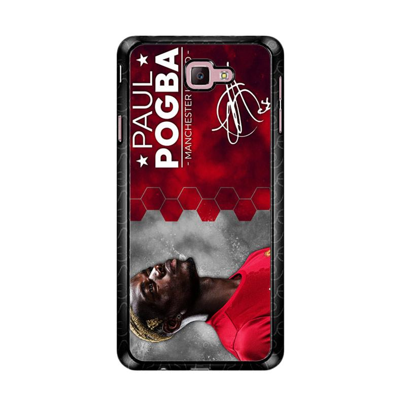 Flazzstore Paul Pogba Manchester United Z4273 Custom Casing for Samsung Galaxy J7 Prime