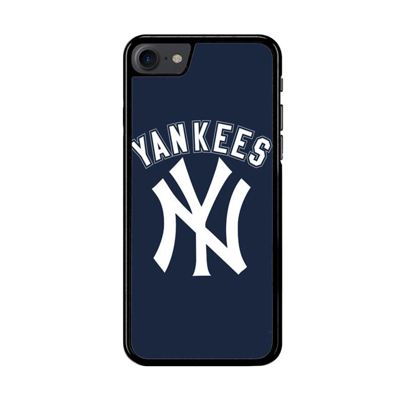 Flazzstore Mlb New York Yankees Z4124 Custom Casing for iPhone 7 or 8