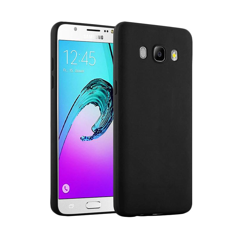 Lize Design Slim Anti Glare Silikon Casing for Samsung Galaxy J5 2016 J510 - Black