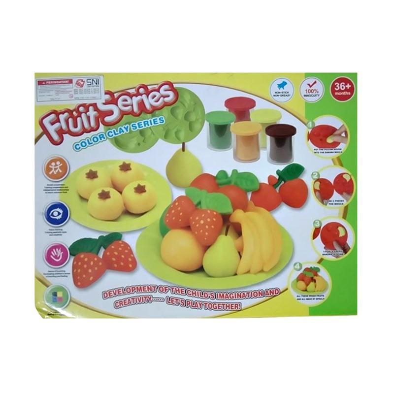 AJA Clay Fruit Series Mainan Anak