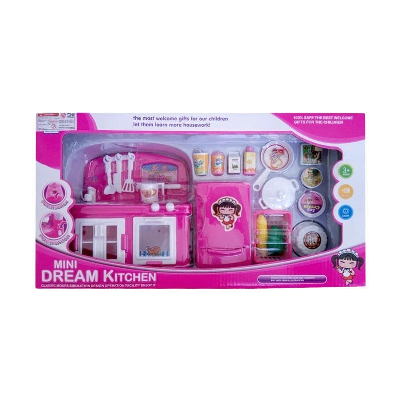 Bailley YH189-1 Mini Dream Kitchen Play Set Mainan Dapur