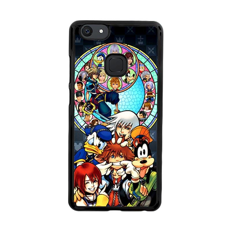 Flazzstore Kingdom Hearts Z3294 Custom Casing for Vivo V7 Plus