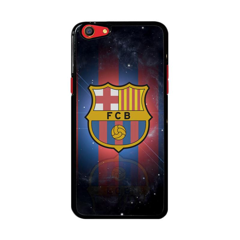 Flazzstore Barcelona Logo Galaxy Z4349 Custom Casing for Oppo F3