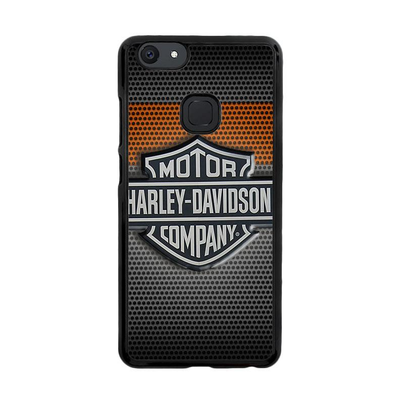 Flazzstore Motor Harley Davidson Logo Z4053 Custom Casing for Vivo V7 Plus