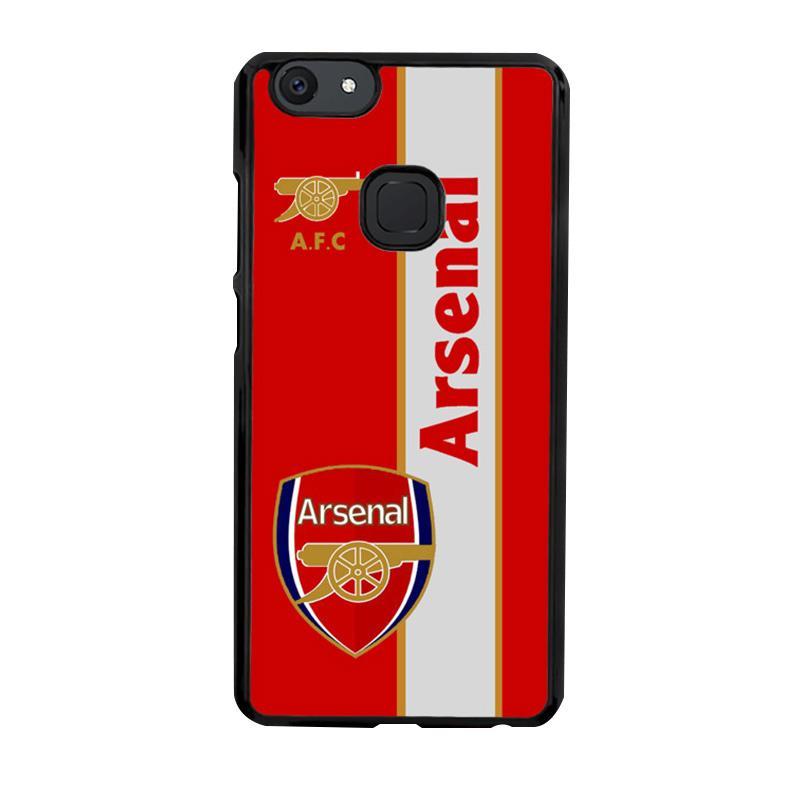 Flazzstore Arsenal Logo Red Z4340 Custom Casing for VIVO V7 Plus