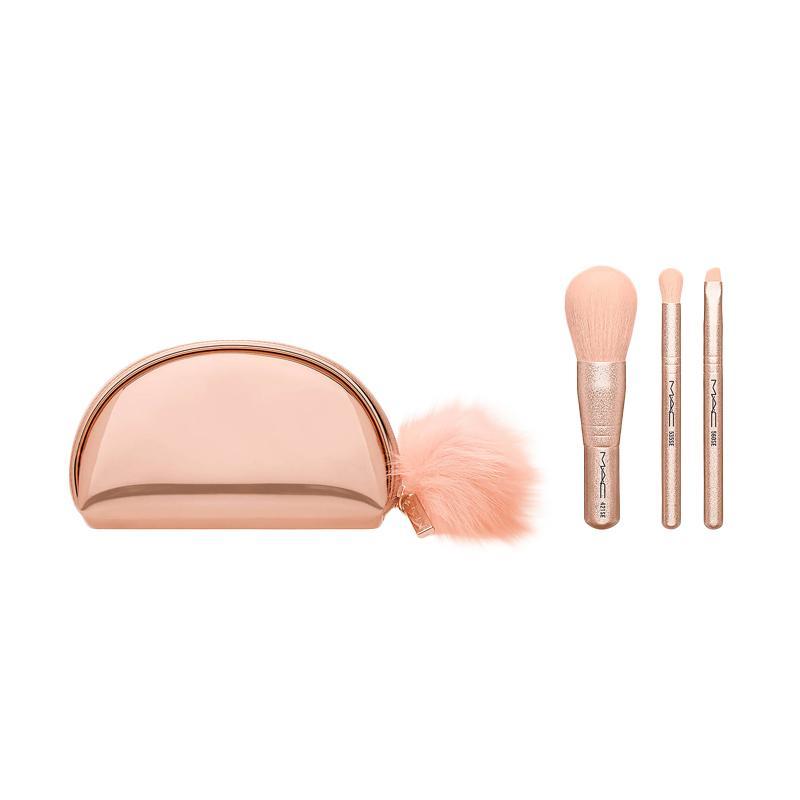 harga MAC Snow Ball Mini Brush Kit [3 pcs] Blibli.com