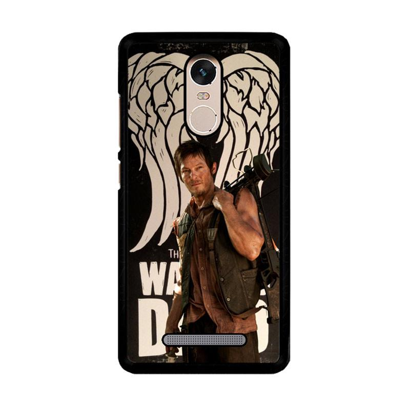 Flazzstore The Walking Dead Daryl Dixon Wings Z2791 Custom Casing for Xiaomi Redmi Note 3 or Note 3 Pro
