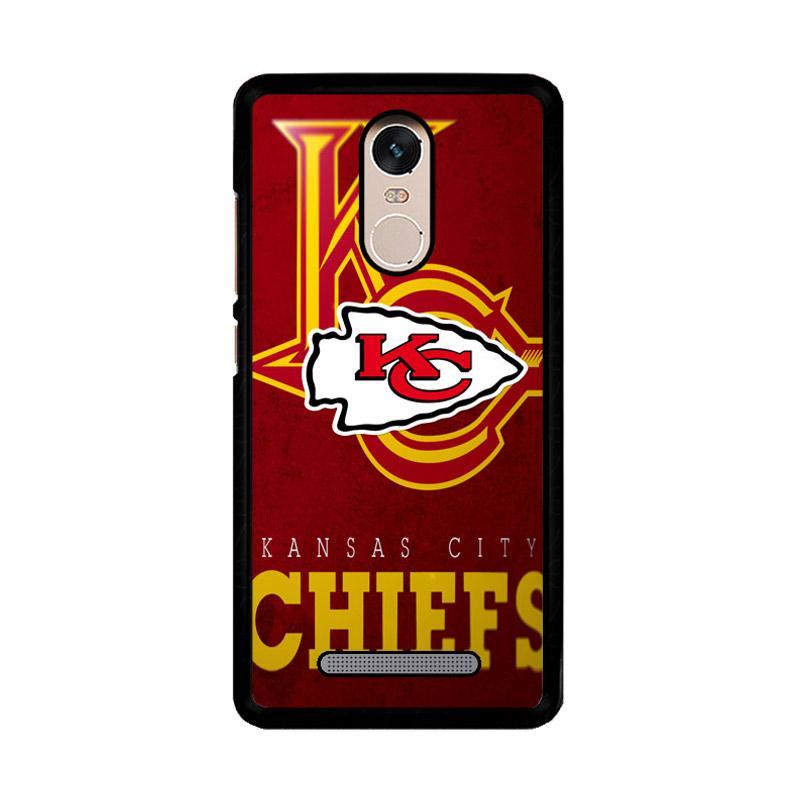 Flazzstore Kansas City Chiefs Z3011 Custom Casing for Xiaomi Redmi Note 3 or Note 3 Pro