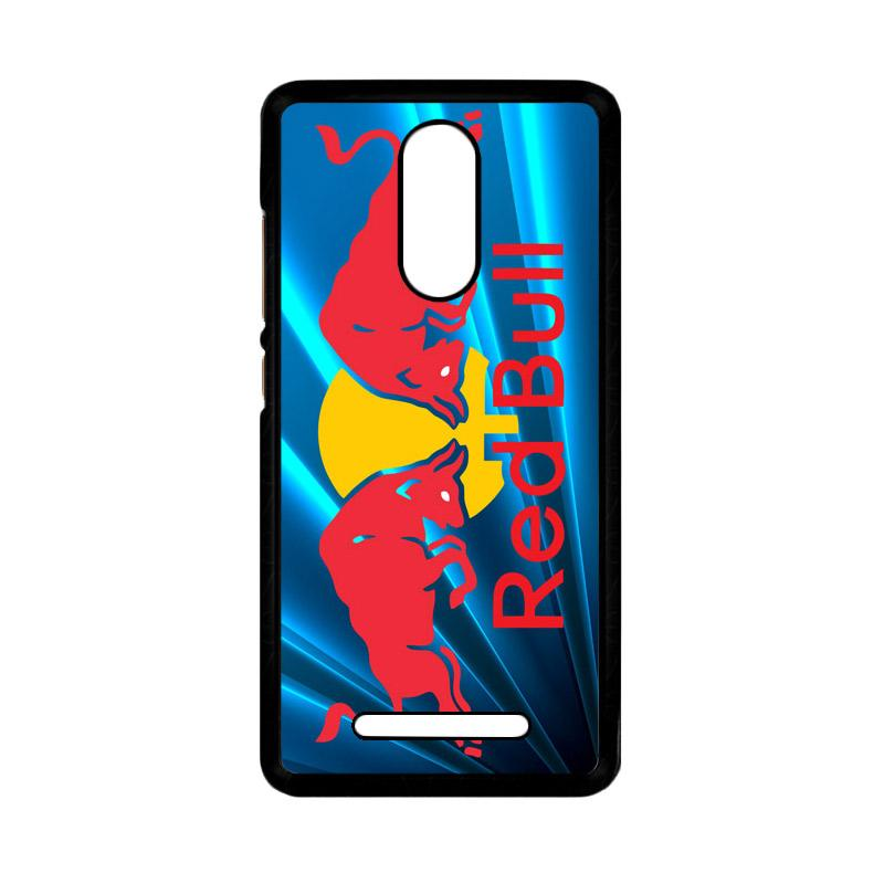 Flazzstore Red Bull Logo Z3229 Custom Casing for Xiaomi Redmi Note 3 or Note 3 Pro
