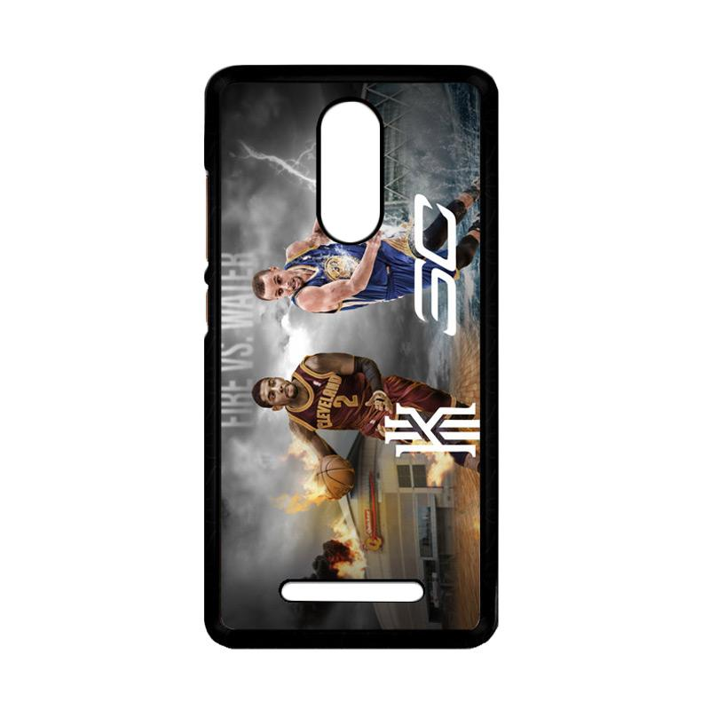 Flazzstore Kyrie Irving And Stephen Curry Z3894 Custom Casing for Xiaomi Redmi Note 3 or 3 Pro