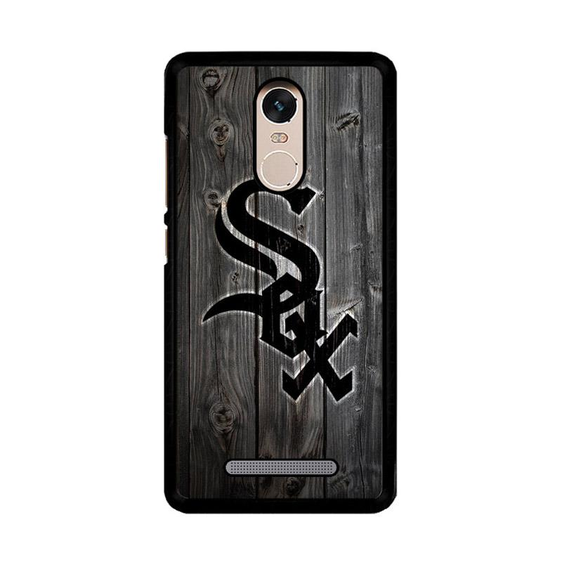 Flazzstore Chicago White Sox Wood Z4127 Custom Casing for Xiaomi Redmi Note 3 or Note 3 Pro