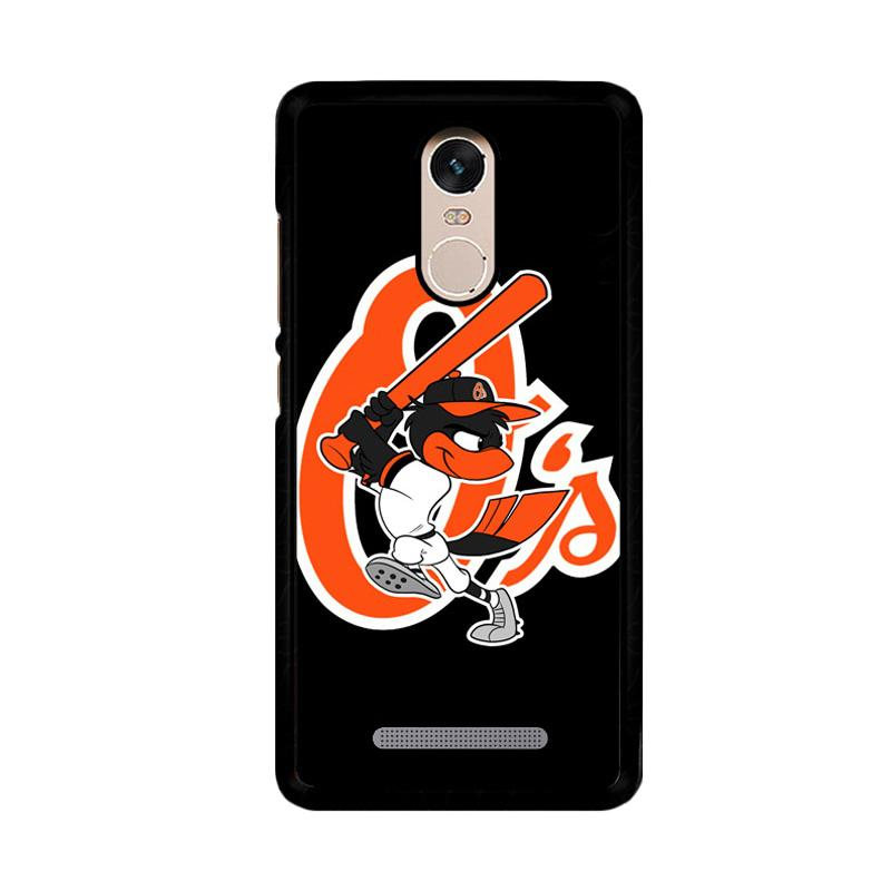 Flazzstore Baltimore Orioles Z4188 Custom Casing for Xiaomi Redmi Note 3 or Note 3 Pro