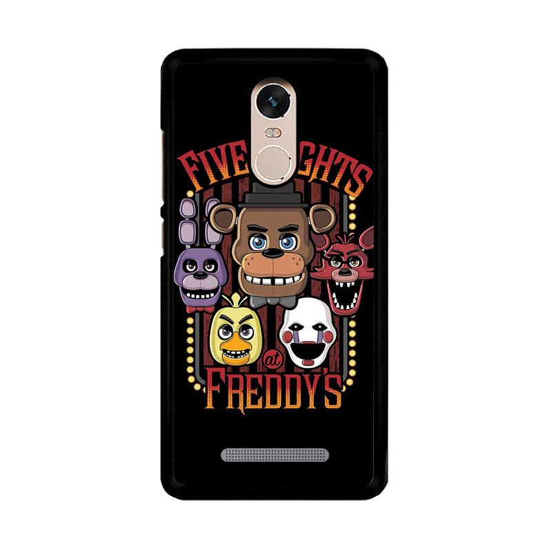 Flazzstore Five Nights At Freddy'S Characters Z4221 Custom Casing for Xiaomi Redmi Note 3 or Note 3 Pro