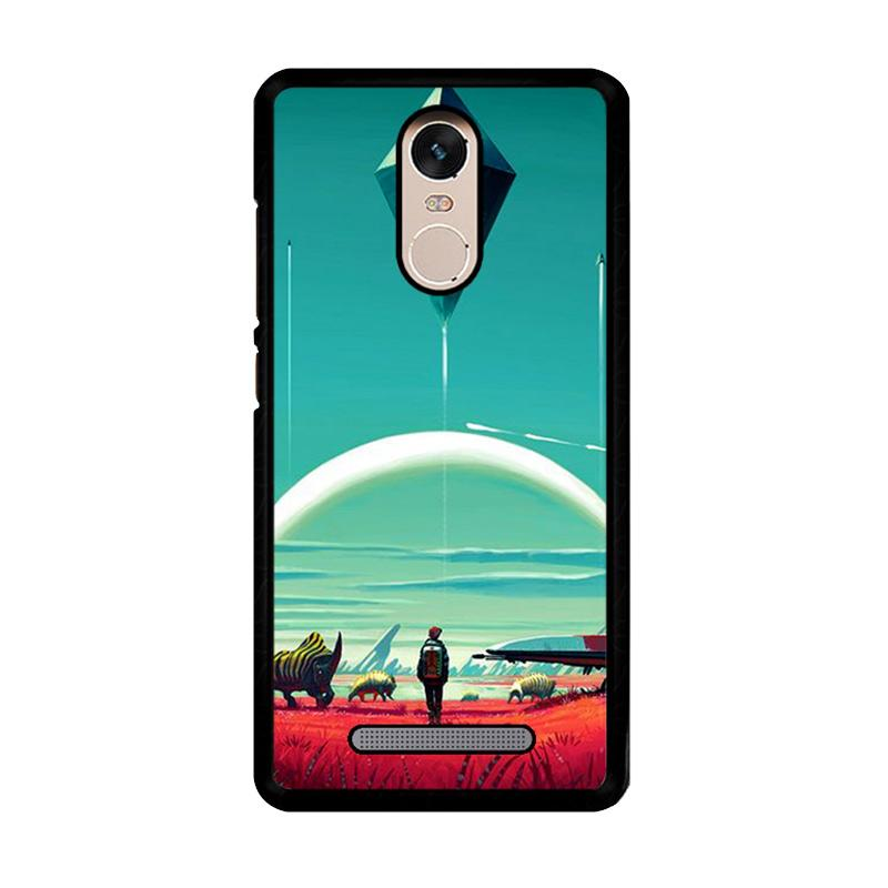 Flazzstore No Mans Sky Z4282 Custom Casing for Xiaomi Redmi Note 3 or 3 Pro