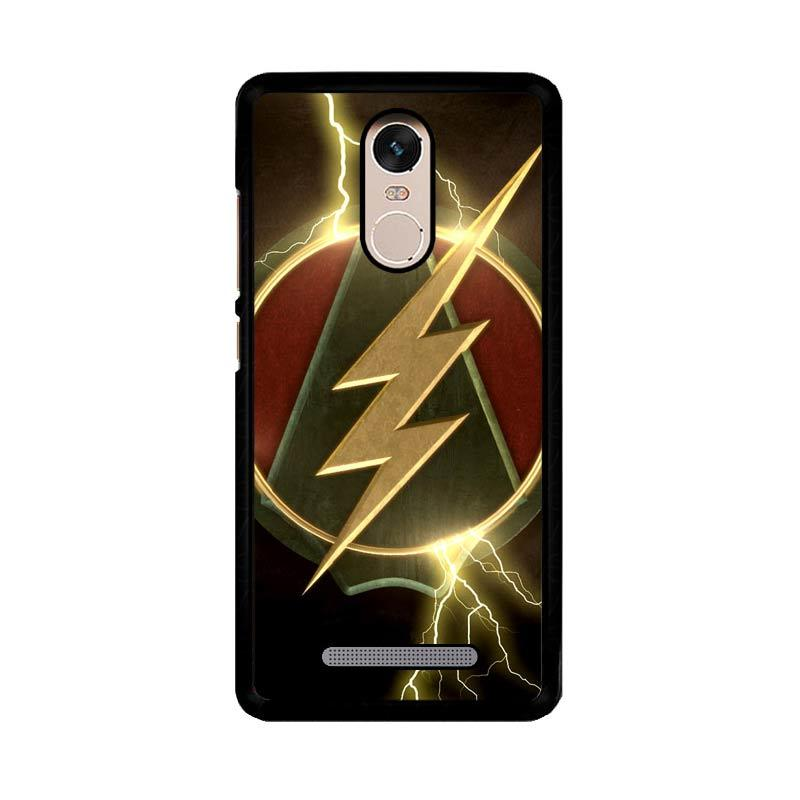 Flazzstore The Flash Arrow Logo Z4321 Custom Casing for Xiaomi Redmi Note 3 or Note 3 Pro