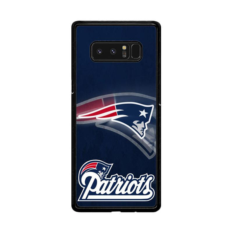 Flazzstore New England Patriots Z2996 Custom Casing for Samsung Galaxy Note8
