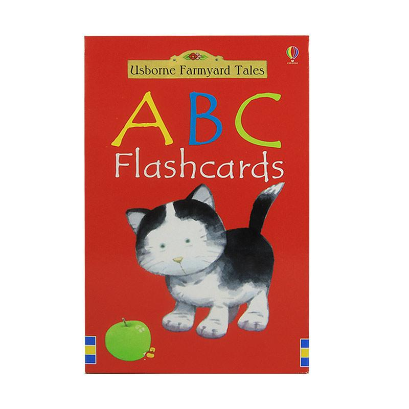 Usborne Books Farmyard Tales Abc Flashcards Buku Anak-anak