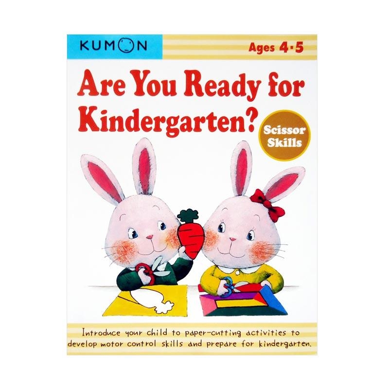 KUMON Genius Are You Ready for Kindergarten Scissor Skills Buku Anak