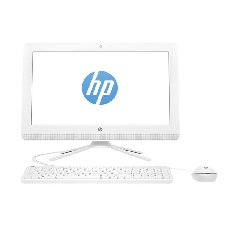 HP 20-C301L All In One Desktop PC - White [i3-7100/ 4GB/ 500GB/ 19.45 Inch/ DOS]